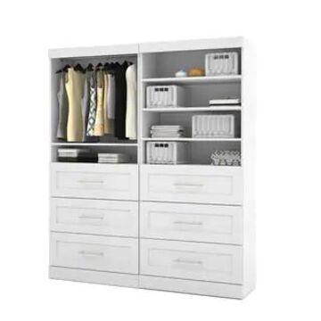 "Pur by Bestar 72-inch Classic Storage Unit Kit - 72"""