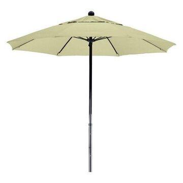 California Umbrella Oceanside 7.5' Black Market Umbrella, Canvas