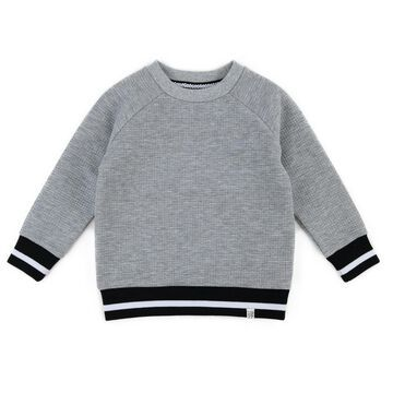 Sovereign Code& Crew Neck Sweater in Heather Grey