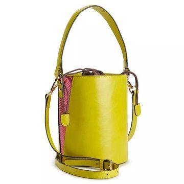 AmeriLeather Brenna Cylinder Handbag, Multicolor