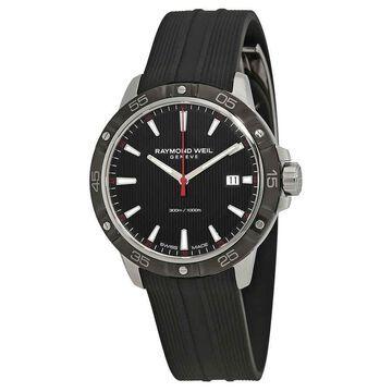 Raymond Weil Tango Black Dial Men's Watch 8160-SR1-20001