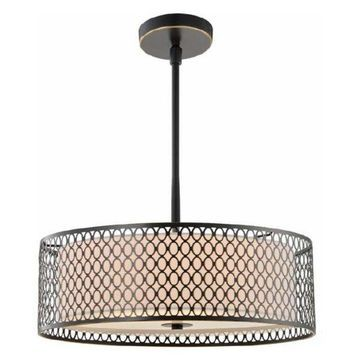 Woodbridge Lighting 16622 Spencer 3 Light Pendant