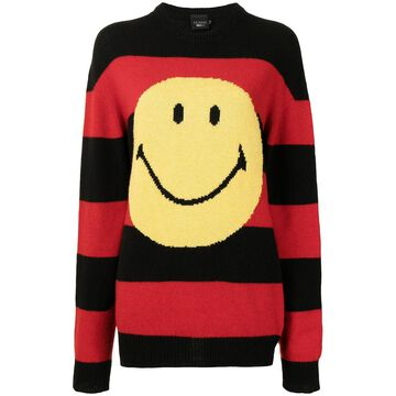 striped smiley jumper