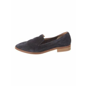 Suede Loafers Blue