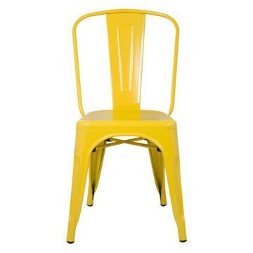 Fine Mod Imports Talix Chair, Yellow