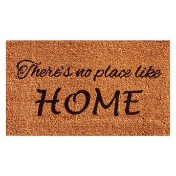 Home & More No Place Like Home Doormat
