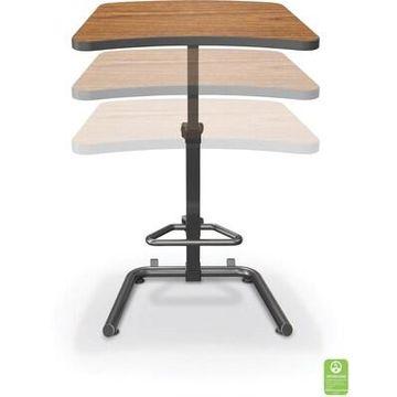 BALT Up-Rite Student 43H Adjustable Desk, Laminate (90532-7919-BK) | Quill
