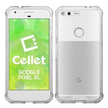 Cellet Odyssey Air Hybrid Series Case for Google Pixel XL - Clear