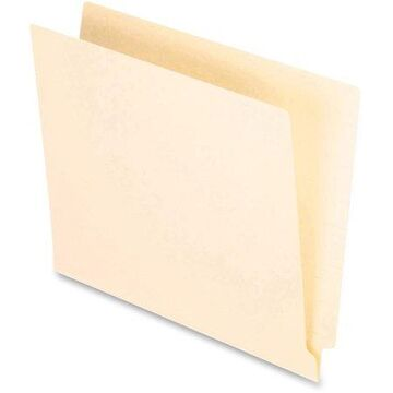 Pendaflex, PFXH110, H110 Color End Tab File Folder, 100 / Box, Manila