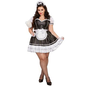 Dreamgirl Keep It Clean Plus Size Costume-2XL