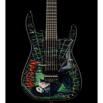 Blemished Custom Select Soloist Electric Guitar Custom Widow Graphic 190839603562