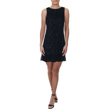 Eliza J Womens Shift Dress Lace Sleeveless
