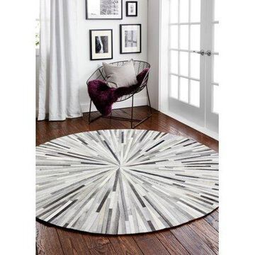 Bashian Grant Contemporary Geometric Area Rug