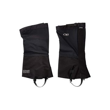 Outdoor Research Crocodile Gaiters (Black) Women's Overshoes Accessories Shoes