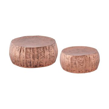 Dimond Home Pascha Accent Table in Copper