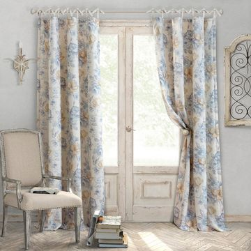 Elrene Annalise Light-Filtering Tab-Top Curtain Panel