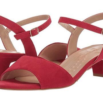 Walking Cradles Lydia (Red Suede) Women's Shoes