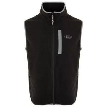 Drake Waterfowl Camp Fleece Vest for Men