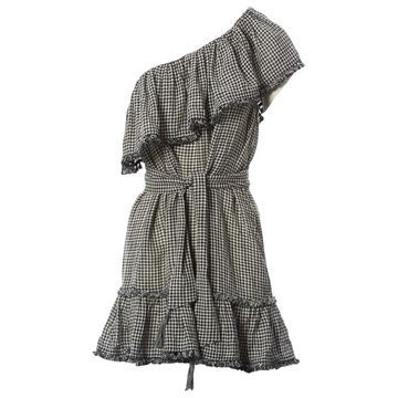 Zimmermann Black Linen Dresses