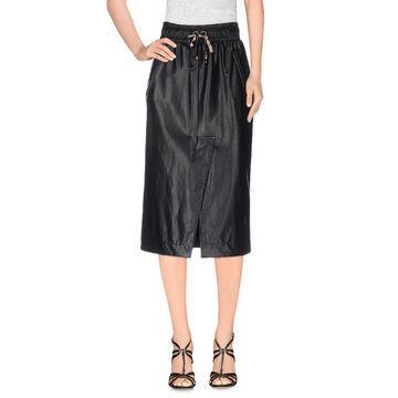MANILA GRACE DENIM 3/4 length skirts