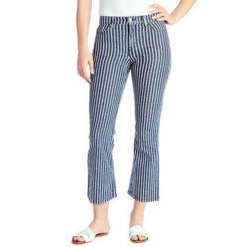 Chaps Women's Mid Rise Crop Kick Jeans In Average Length - -