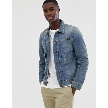 Nudie Jeans Co Sunny denim jacket in mid stone