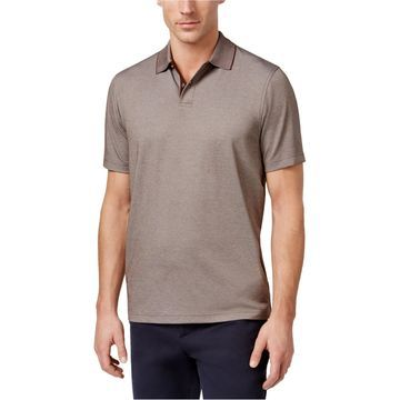 Tasso Elba Mens Basic Rugby Polo Shirt