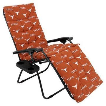 College Covers NCAA Texas Longhorns Outdoor Chaise Lounge Cushion