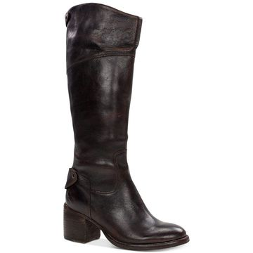 Patricia Nash Womens Loretta Leather Closed Toe Knee High