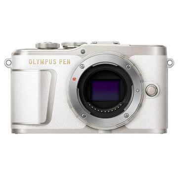''Olympus PEN E-PL9 16.1MP Mirrorless Camera Body, Pearl White''