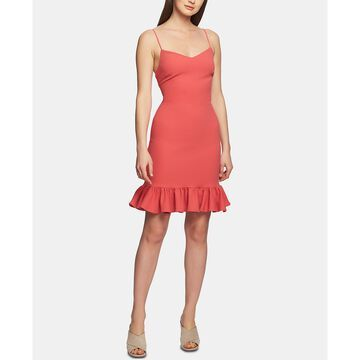 Ruffle-Hem A-Line Dress