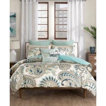 Ink+Ivy Mira Reversible Paisley Print Full/Queen Comforter Mini Set Bedding