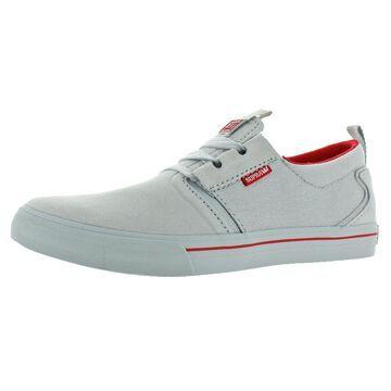 Supra Mens Flow Suede Low-Top Casual Shoes