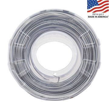 Southwire Southwire SIMpull CoilPAK 1000-ft 12-AWG White Copper THHN Wire (By-the-Roll) | 58019904