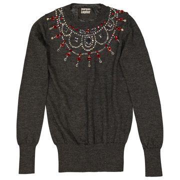 Markus Lupfer Grey Wool Knitwear