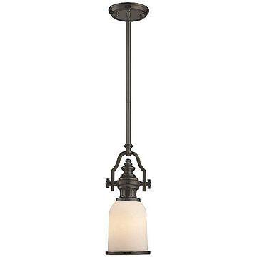 ELK Lighting Chadwick Mini Pendant Light - Color: Black - Size: 1 light - 67201-1