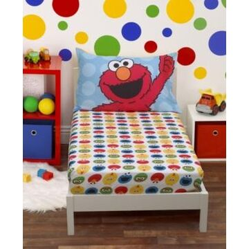 Toddler Boy's Sheet Set with Fitted Crib Sheet and Pillowcase, 2 Piece Bedding