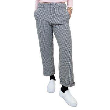 Dickies Junior's Gingham Cropped Wide-Leg Pants