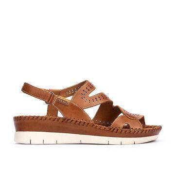 PIKOLINOS leather Wedge Sandals ALTEA W7N