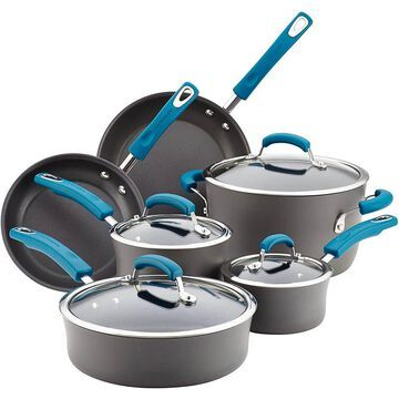 Rachael Ray 87650 10 Pc. Pots and Pans Set