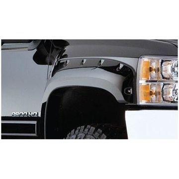 Bushwacker 07-14 Chevy Silverado 2500 HD Pocket Style Flares 2pc - Black