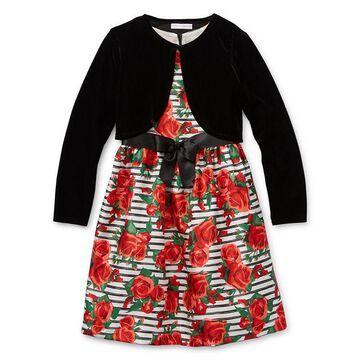 Bonnie Jean Girls Sleeveless Dress Set