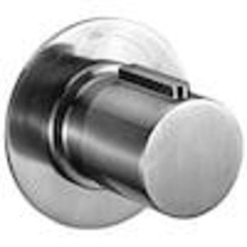 ALFI brand ALFI brand AB9101-BN Brushed Nickel Modern Round 3 Way Shower Diverter