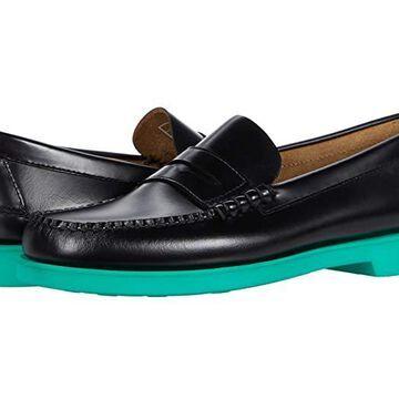 Sebago Dan Polaris RGB (Black/Green) Men's Shoes