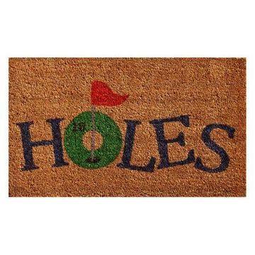 Home & More 18 Holes Doormat