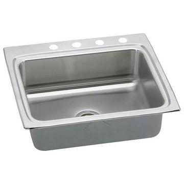Elkay LRAD2522554 Single Bowl Lusterstone Sink