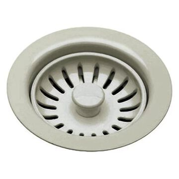 Rohl 735STN Basket Strainer Without Pop-Up, Satin Nickel
