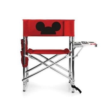Picnic Time Mickey Mouse Sports Chair in Red