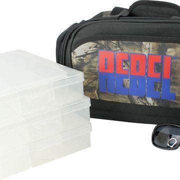 Mossy Oak Rebel Heavy Duty Angler's Tackle Bag