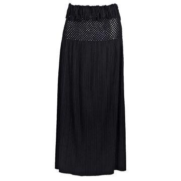 Issey Miyake Black Polyester Skirts